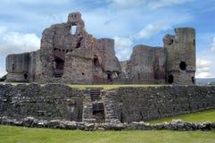 城堡历史英国 免版税库存图片