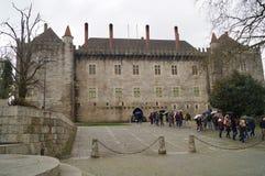 城堡吉马朗伊什 库存照片