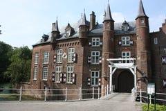 城堡和它的周围 免版税库存图片