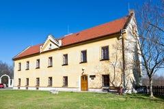 城堡和镇画廊, Kladno,中波希米亚州,捷克共和国 免版税图库摄影