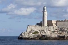城堡哈瓦那morro 免版税库存照片