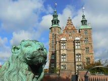城堡哥本哈根rosenborg 库存图片