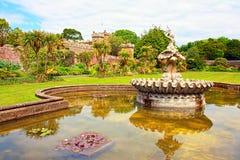 城堡国家(地区) culzean公园 库存照片