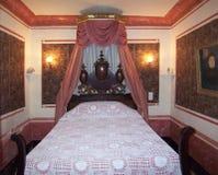 城堡国王卧室 库存照片