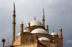 城堡圆屋顶清真寺saladin 库存照片