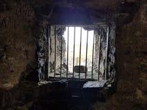 城堡土牢 免版税库存图片