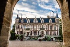 城堡圣徒Florent苏尔雪儿法国 免版税图库摄影