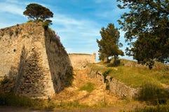 城堡圣徒tropez 免版税库存图片