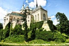 城堡在乡下 库存图片