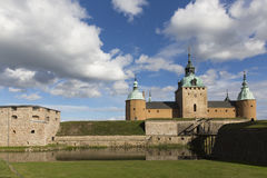 城堡在卡尔马在瑞典 库存照片