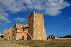 城堡在圣多明哥 免版税库存照片
