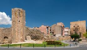 城堡在塔拉贡纳西班牙 免版税库存照片