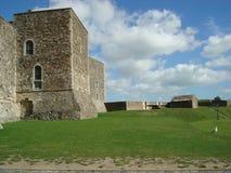 城堡在多弗,英国 库存照片