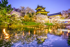 城堡在奈良,日本 免版税库存照片