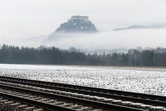 城堡在奥地利 免版税库存照片