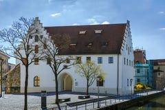 城堡在安伯格,德国 库存照片