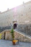 城堡在布德瓦,黑山 免版税库存图片