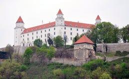 城堡在布拉索夫,斯洛伐克,欧洲 免版税图库摄影