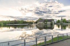 城堡在弗莱希廷根,德国 免版税库存图片