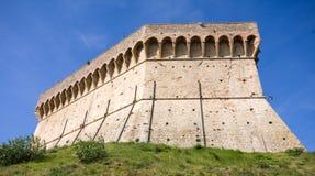 城堡在意大利 免版税图库摄影
