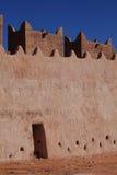 城堡在撒哈拉大沙漠 库存图片