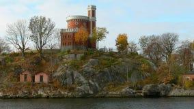 城堡在斯德哥尔摩 免版税库存图片