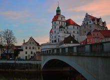 城堡在新堡 免版税图库摄影