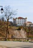 城堡在普罗旺斯 免版税库存图片