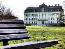 城堡在普什奇纳2 免版税库存照片