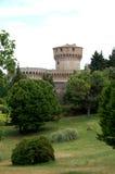 城堡在沃尔泰拉 免版税库存图片
