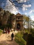 城堡在波兰 库存照片