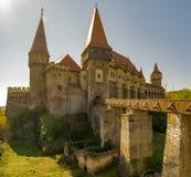 城堡在特兰西瓦尼亚,罗马尼亚 图库摄影