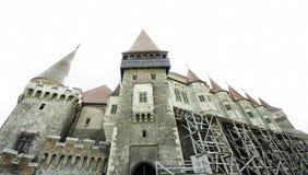 城堡在特兰西瓦尼亚 库存图片