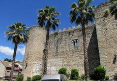 城堡在竞技场de圣佩德罗火山 免版税库存图片