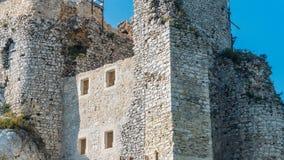 城堡在米罗 免版税图库摄影