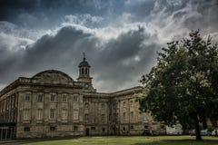 城堡在约克在英国英国 免版税图库摄影