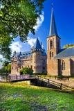 城堡在荷兰 免版税库存图片
