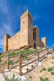城堡在西班牙 图库摄影