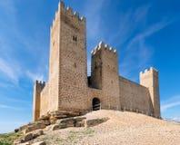 城堡在西班牙 库存照片