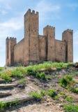 城堡在西班牙 免版税库存图片