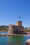 城堡在这海(Castello sul母马, 1551)。意大利 库存照片