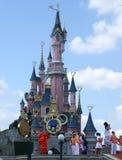 城堡在迪斯尼乐园巴黎 图库摄影