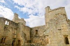 城堡在阳光下 库存照片