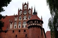 城堡在马尔堡 免版税图库摄影