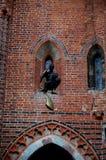 城堡在马尔堡 库存照片