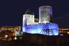 城堡在Bedzin 库存图片