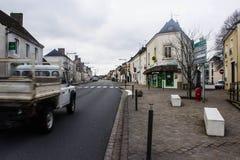 城堡在Bouloire 库存照片