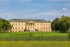城堡在Dolna Krupa 库存照片