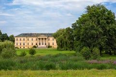 城堡在Dolna Krupa 免版税库存图片