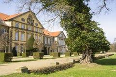城堡在Hundisburg,德国 库存图片